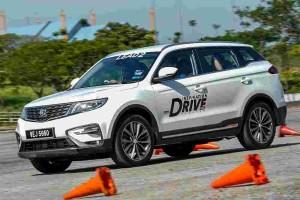 2020 Proton X70 CKD gets stiffer suspension for better ride & handling