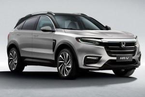 Lakaran: Honda HR-V generasi ketiga bakal nampak lebih agresif?