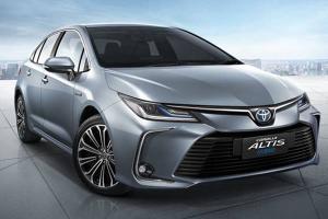 因销量不敌Honda Civic,泰版Toyota Corolla Altis即将迎来升级