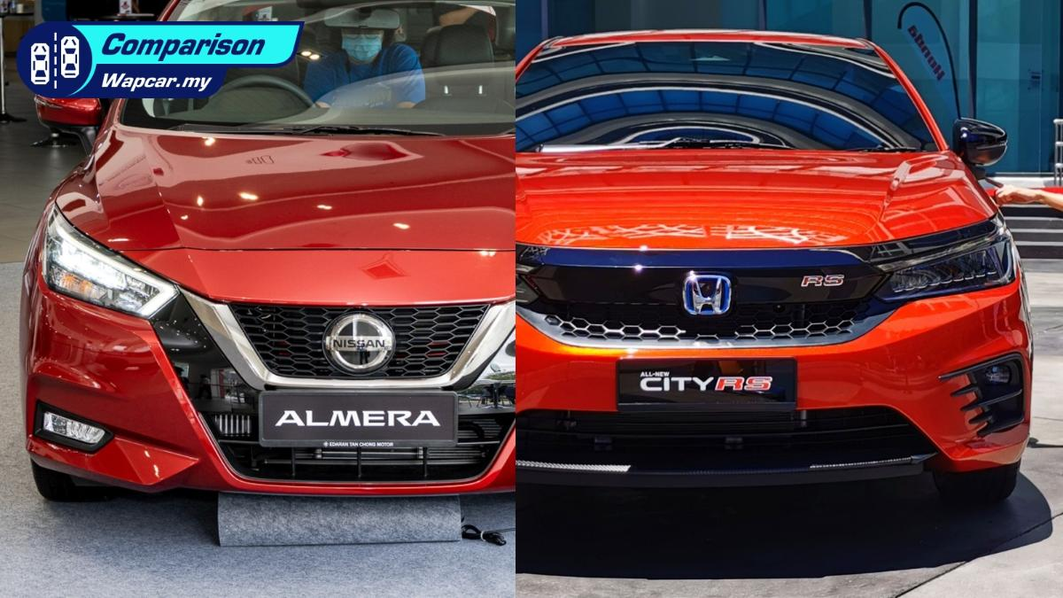 All-new Nissan Almera vs Honda City: How do they measure against each other? 01