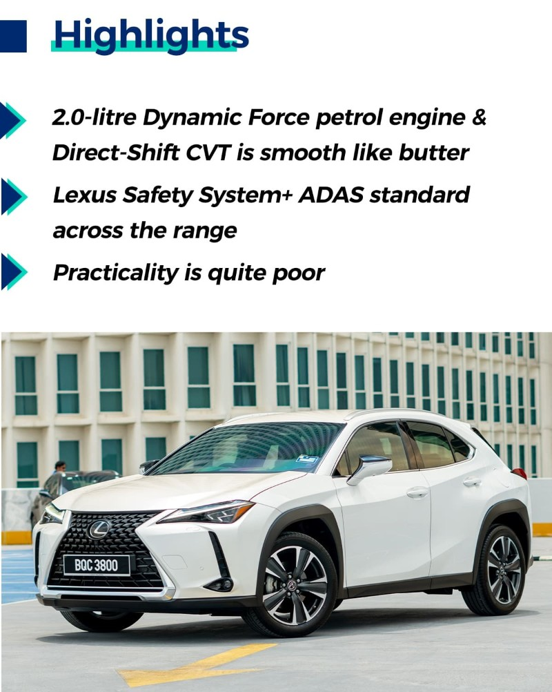 Review: 2020 Lexus UX 200 2.0L CVT, compact SUV with BMW handling, Lexus refinement 02