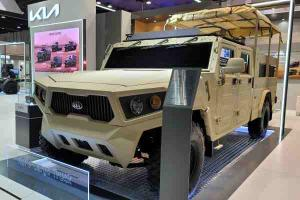 Kia previews latest Korean humvee concept at defence exhibition