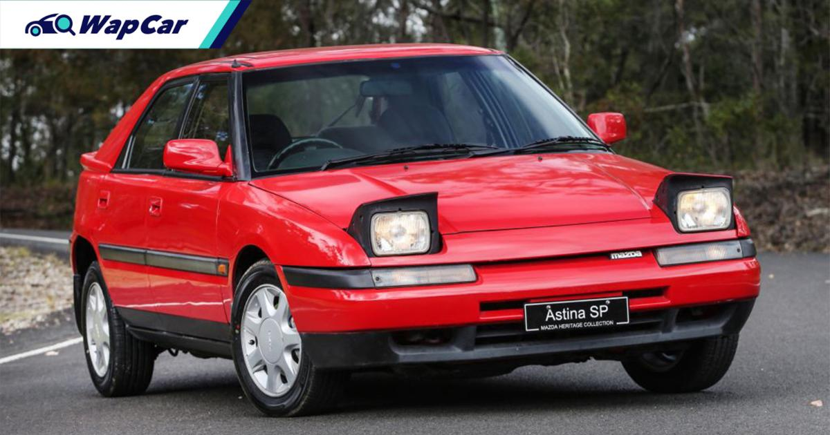 Favoured among playboys, the Mazda Astina is a headlight-flipping 90s icon 01