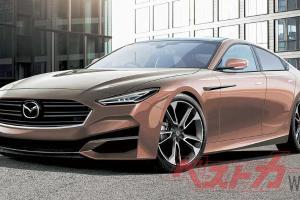 Gambaran awal model baharu Mazda 6 tular. Sasar untuk saingi BMW dan Mercedes Benz?