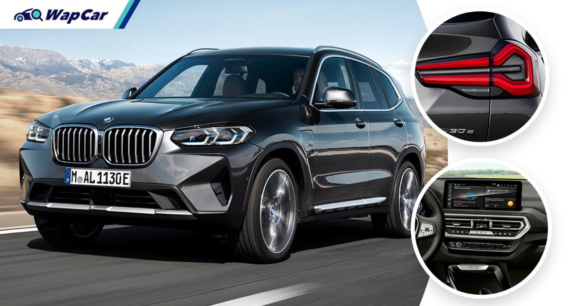 G01 2021 BMW X3 facelift (LCI) debuts; 48V mild hybrid as standard 01