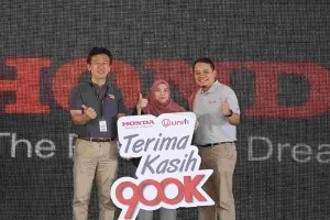 Honda Malaysia ends the 900k Milestone campaign on a high note