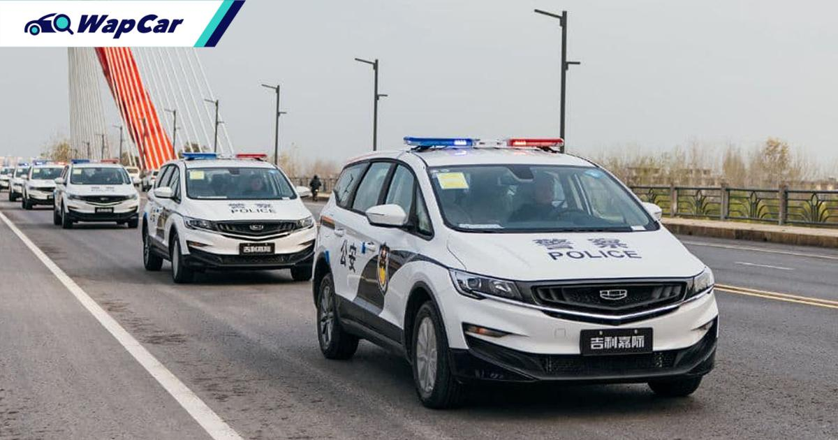 Geely delivers 30 units of the Geely Jiaji to Chinese police department 01