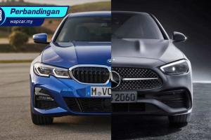 Mercedes-Benz C-Class W206 vs BMW 3 Series G20 – pujaan hati mana yang anda pilih?