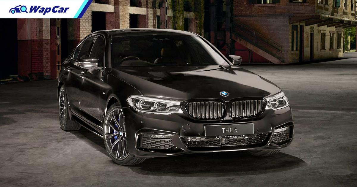 The name is so long, only 36 of you can buy it - the BMW 530i M Sport Dark Shadow Edition, priced from RM 392k 01