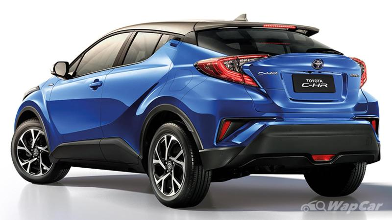 Discontinued in Malaysia, Thailand cuts price for 2021 Toyota C-HR 02