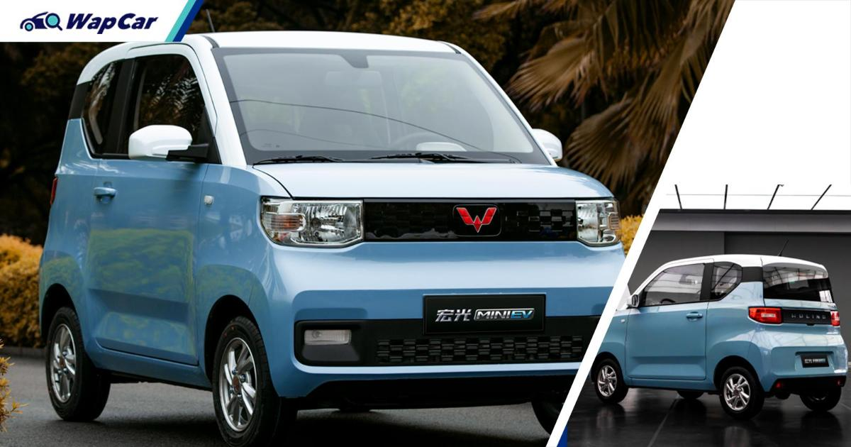 Wuling Hong Guang Mini EV on sale in Thailand for RM 49k! But it's unofficial 01