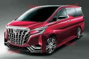 Rendered: 2022 Toyota Alphard imagined with inspiration from Transformers?