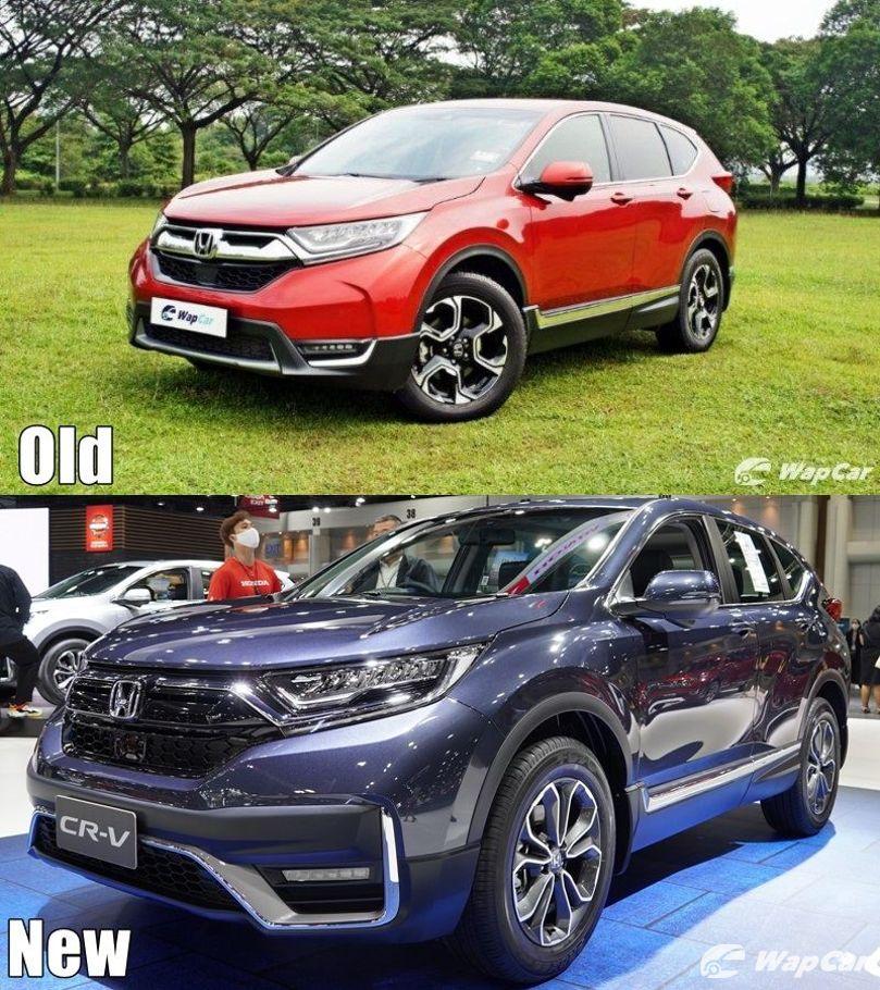 Baru lwn. Lama: Honda CR-V 2020 facelift – apa yang baru? 02