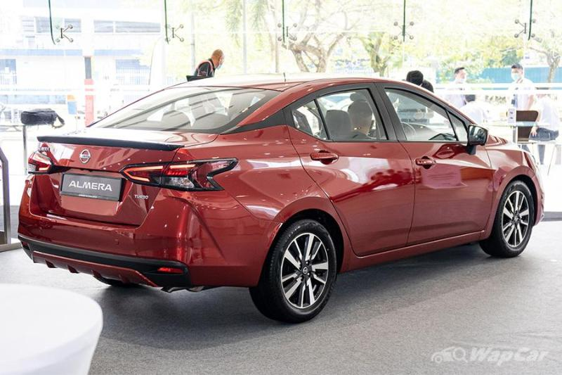 What's the minimum salary to get a loan for the 2020 Nissan Almera? 02