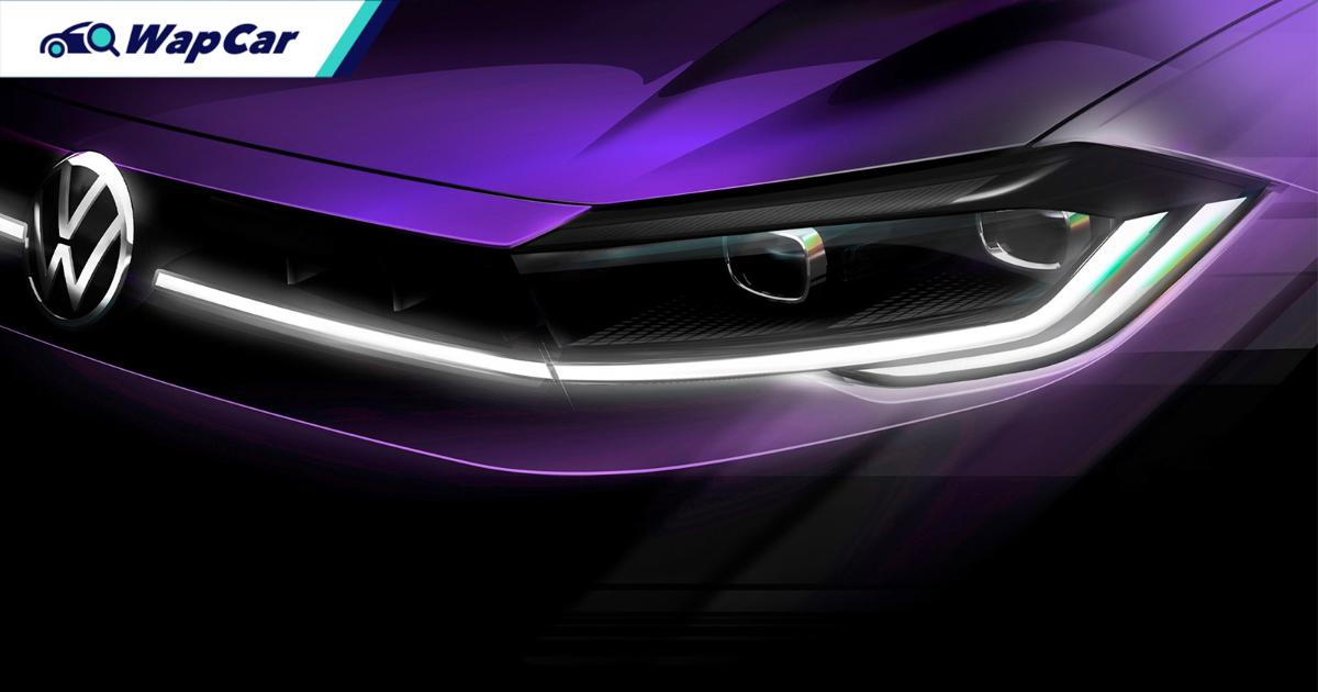 Missing in Malaysia, 2021 VW Polo Mk6 facelift teased, world premiere 22-Apr 01