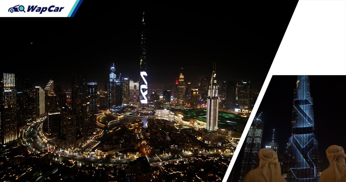 Kia lights up the Burj Khalifa for new logo introduction in Middle Eastern region 01