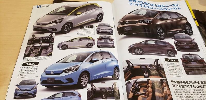 2020 Honda Jazz variants
