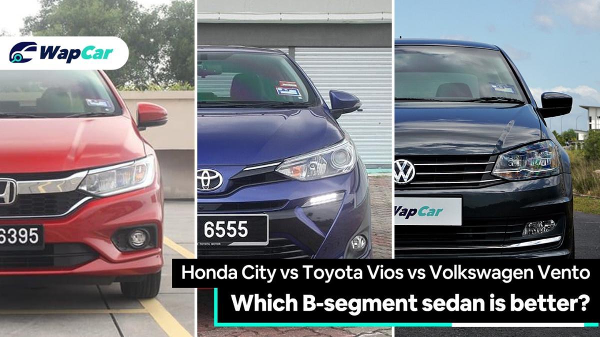 Honda City vs Toyota Vios vs Volkswagen Vento – which B-segment sedan is for you? 01