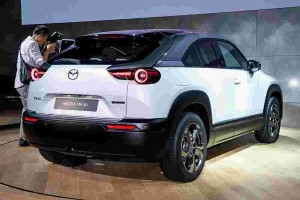BEVs with high battery capacity are not as environmentally friendly as you think says Mazda
