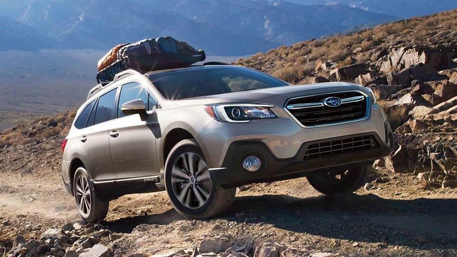 Subaru Outback (2018) Exterior 005
