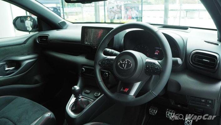 2021 Toyota GR Yaris Interior 002