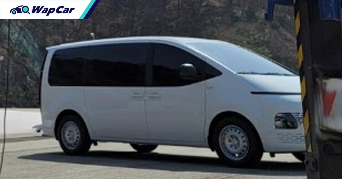 Spyshot: Hyundai Staria spec bawah 'bocor' setelah diacah semalam? 01
