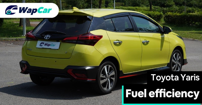 2019 Toyota Yaris fuel consumption