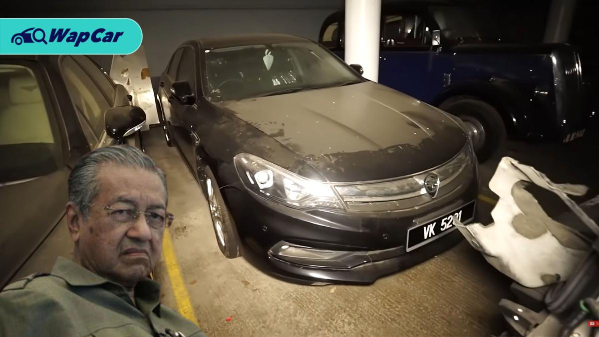 How did Tun M's Proton Perdana ended up gathering dust in the UK? 01