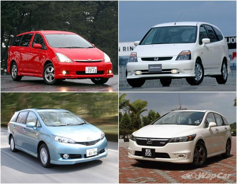 Poor door choices are what killed off the Toyota Wish and Honda Stream 02