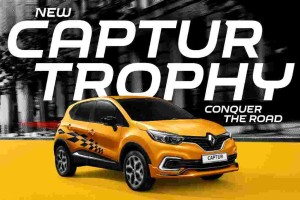 Like this chequered Renault Captur Trophy? It's a limited edition
