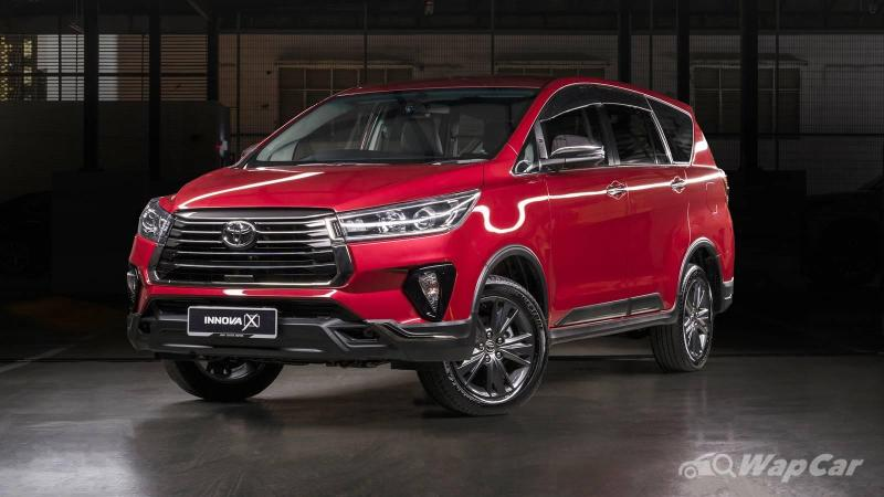 2021 Toyota Innova facelift now in Malaysia: price up RM 2-4k, adds 360-cam, BSM 02