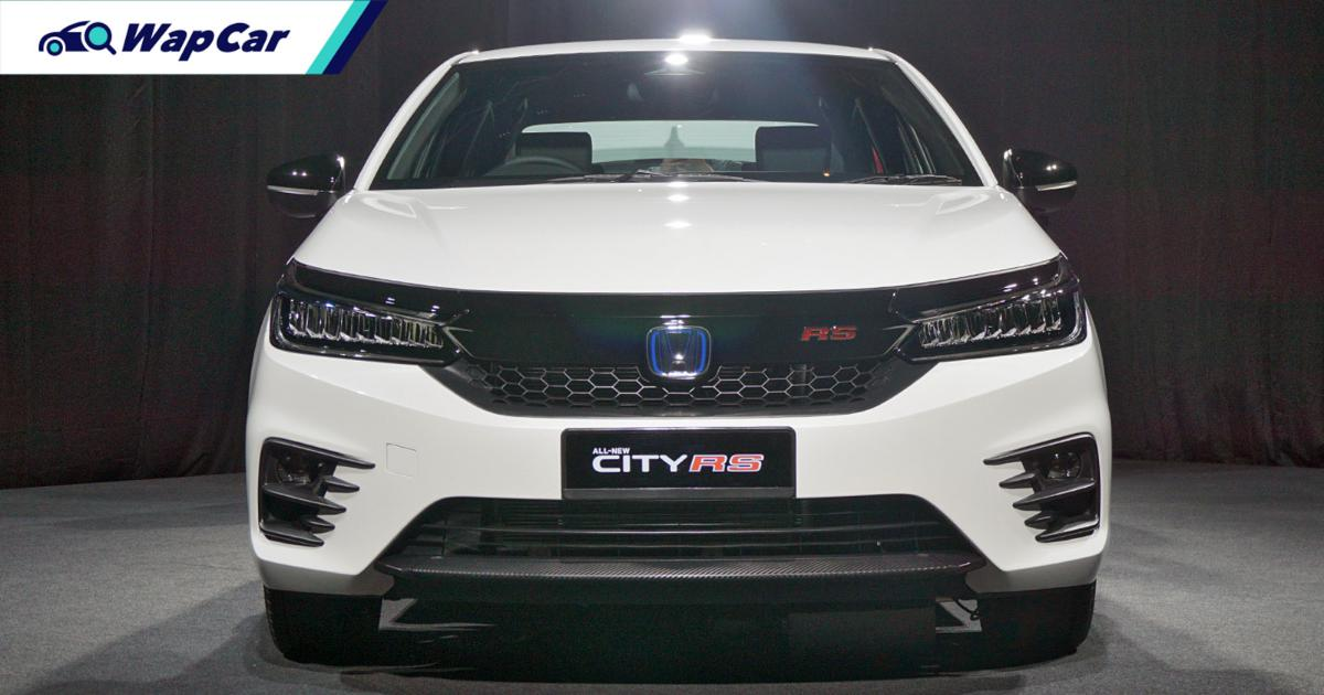 Honda City RS costs RM 19k more than City 1.5V, but only RM 56 more to maintain over 5 years 01