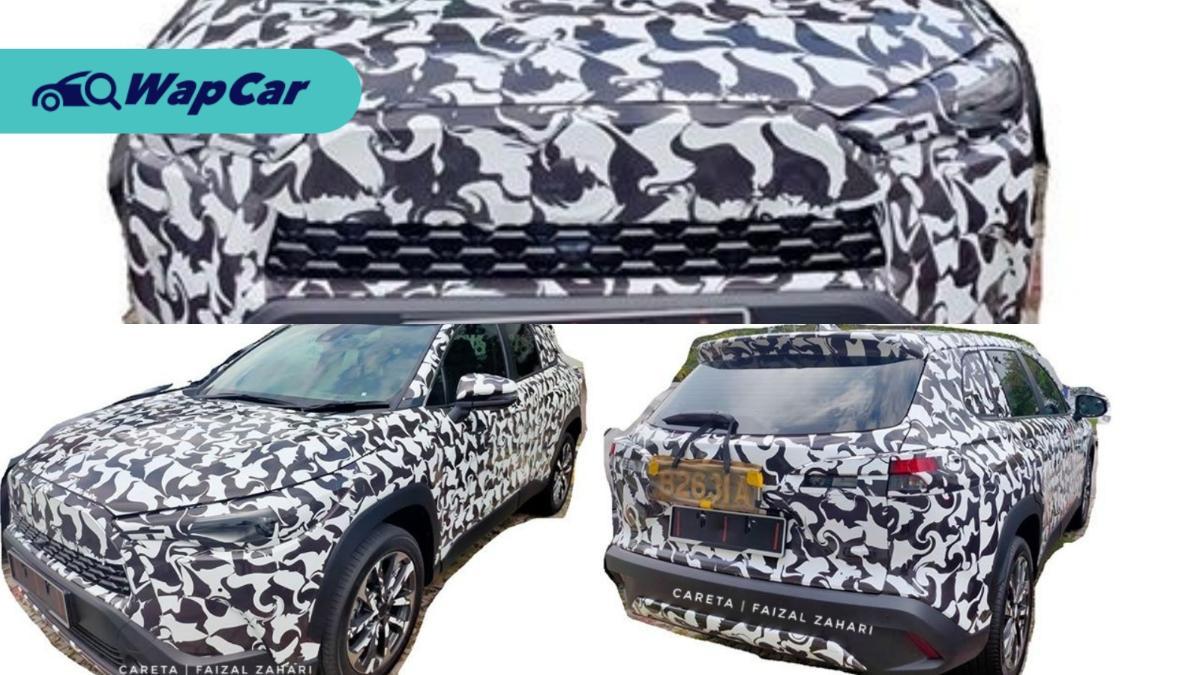 Spied! 2020 Toyota Corolla Cross testing on Malaysian roads 01