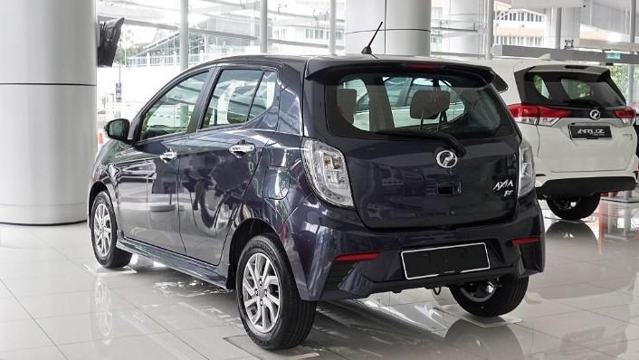 2018 Perodua Axia SE 1.0 AT Exterior 007