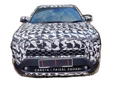 Spied! 2020 Toyota Corolla Cross testing on Malaysian roads 02