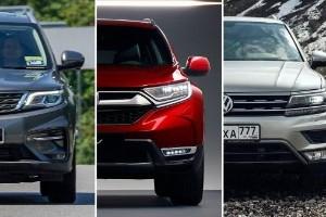 Proton X70 vs Honda CR-V vs Volkswagen Tiguan - which is the better SUV?