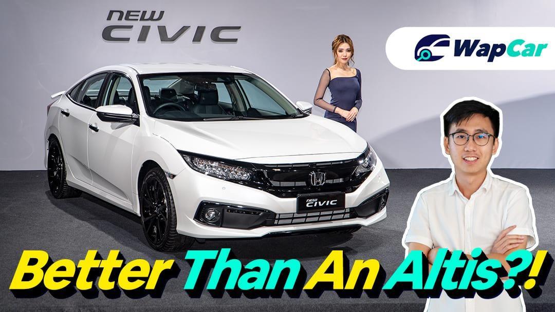 2020 Honda Civic Facelift Malaysia