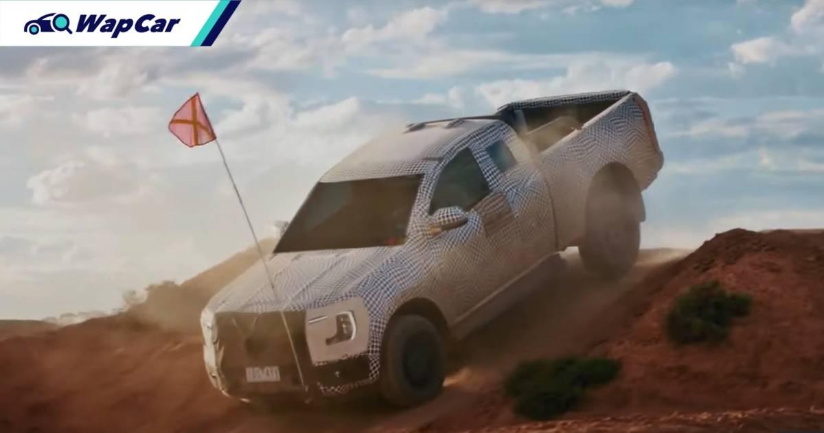 Hilux beware! Next-gen Ford Ranger debuting Q1 2022 in Thailand 01