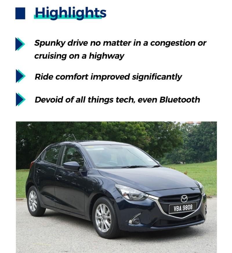 Highlights of Mazda 2 HB Mid