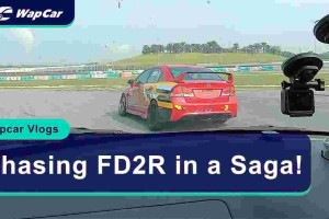 Video: Chasing a FD2R in the Proton Saga R3 racecar on Sepang!