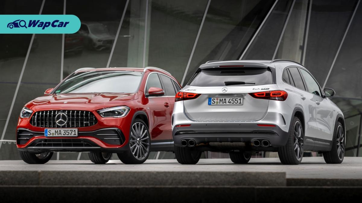 2020 Mercedes-AMG GLA 35 and GLA 45 - Photos to drool over 01