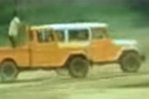 Watch: This classic ad depicted the FJ40 Toyota Land Cruiser as a team of rescue rangers