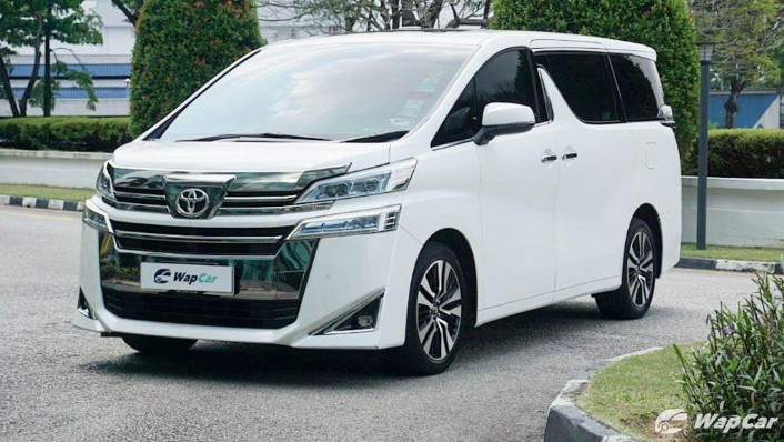 2020 Toyota Vellfire 2.5 Exterior 001