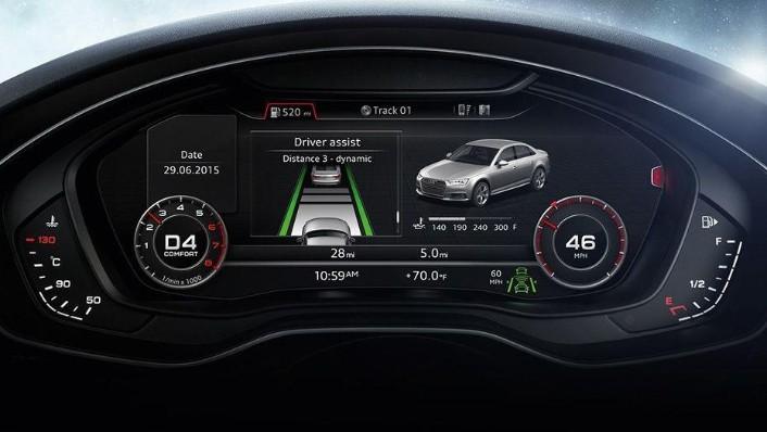 Audi A4 (2019) Interior 006