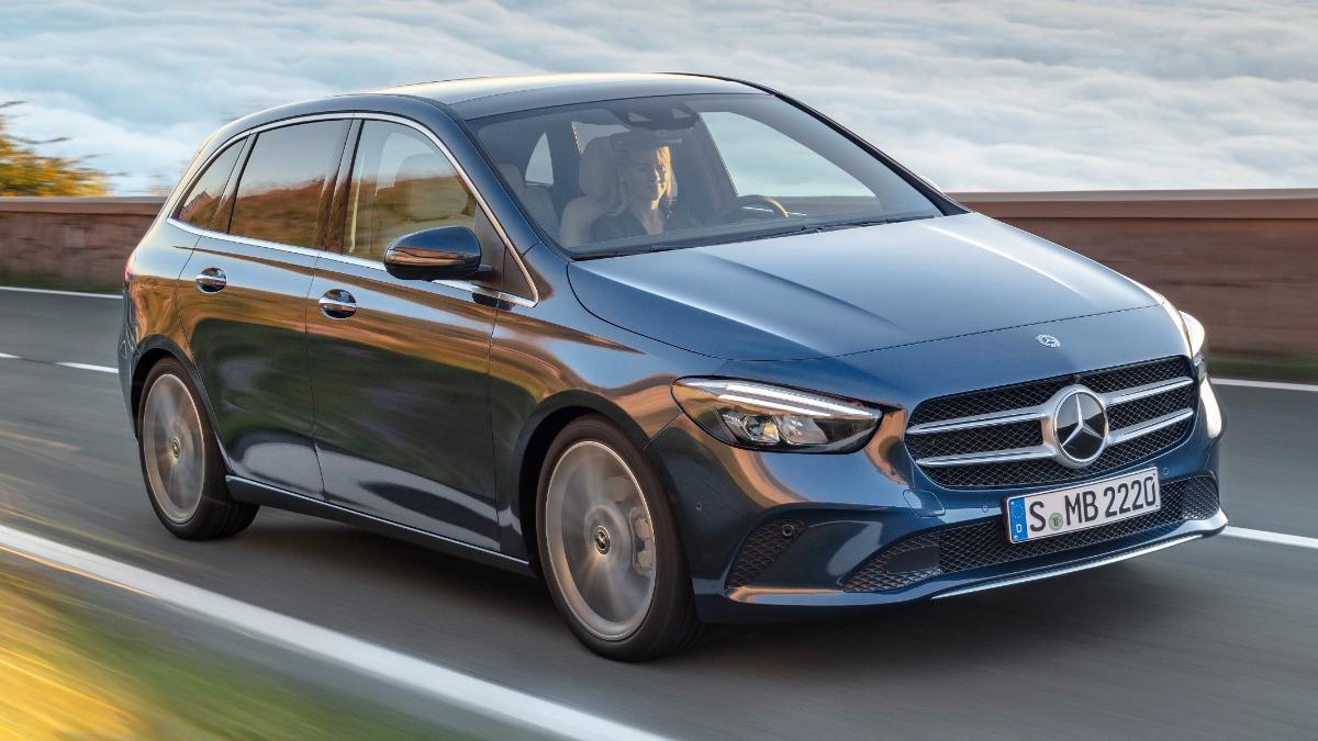 All new Mercedes-Benz B-Class