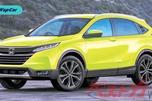 Honda HR-V 2021 dilakar, kelihatan lebih matang!