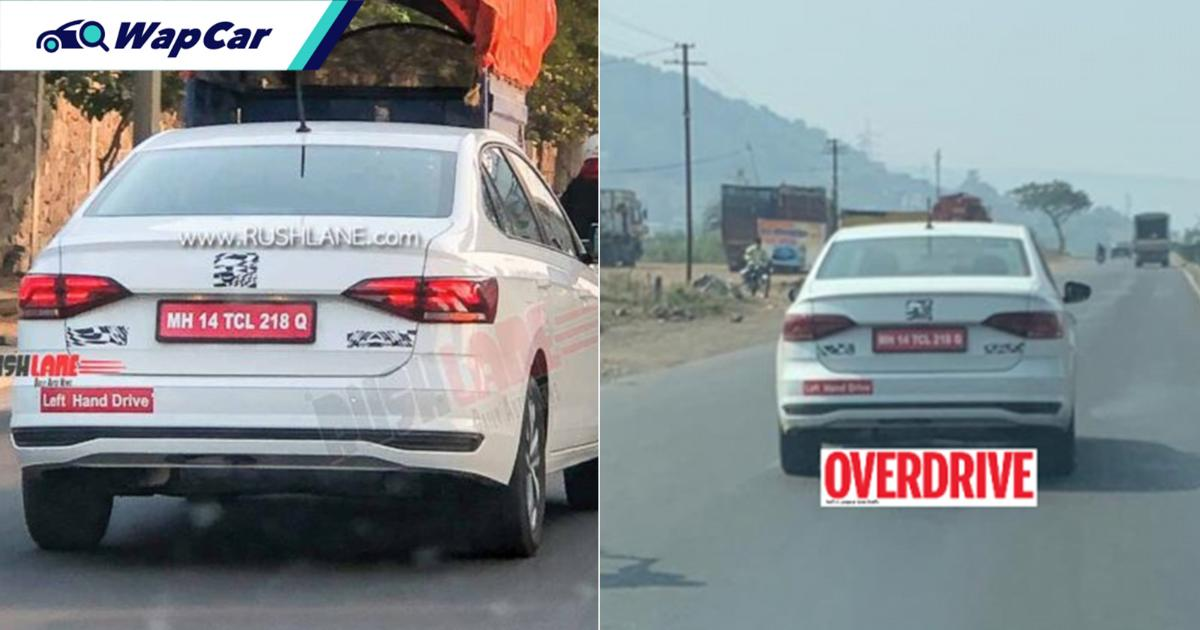 Spied: Volkswagen Virtus caught testing in India, Vento replacement for Malaysia? 01