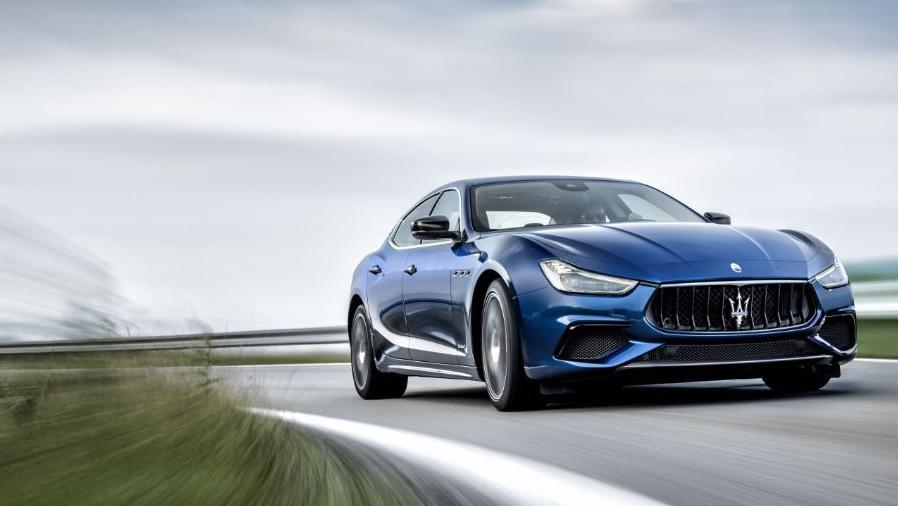Maserati Quattroporte (2019) Exterior 008