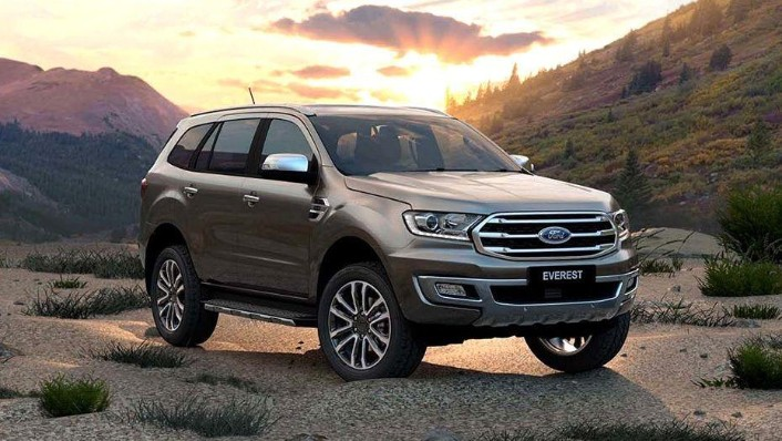 Ford Everest (2017) Exterior 003