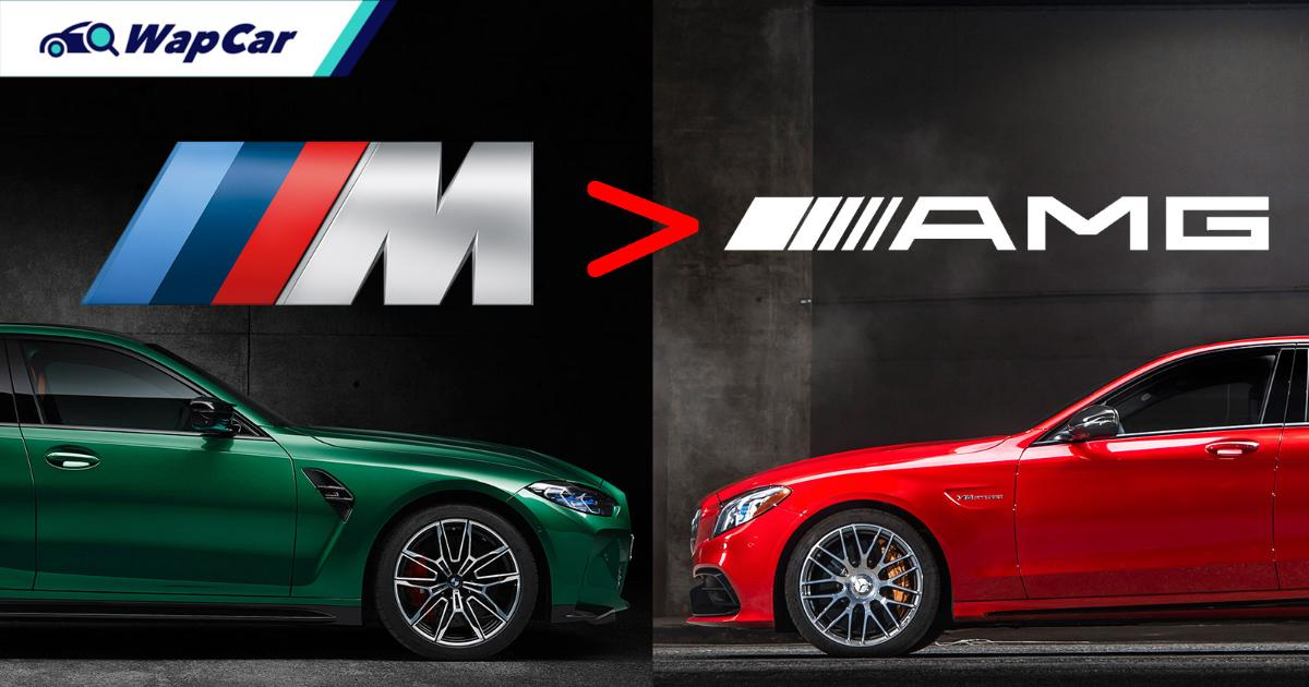 BMW M cars outsold Mercedes-AMG by 20k units in 2020! 01